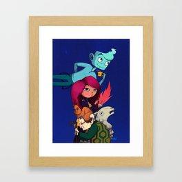 Lost Soul Cafe Team Framed Art Print