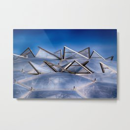 Eden Project Roof Metal Print