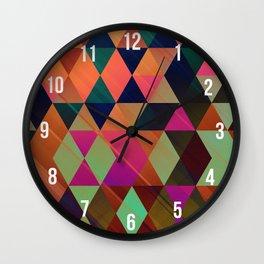 Orgree Pattern Wall Clock