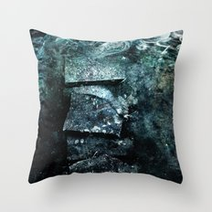 Cold waters Throw Pillow