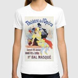 1897 Masquerade ball Paris Opera T-shirt
