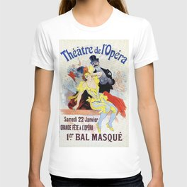 1897 Masquerade ball Paris Opera T-shirt