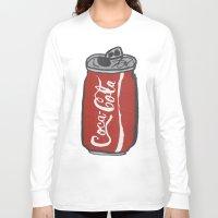 coke Long Sleeve T-shirts featuring COKE 4EVR by Josh LaFayette