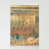 lonely Stationery Cards featuring Lonely by Rose Etiennette