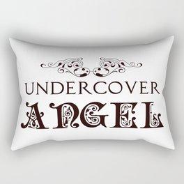 Undercover Angel Rectangular Pillow