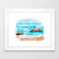 oceanview Framed Art Print