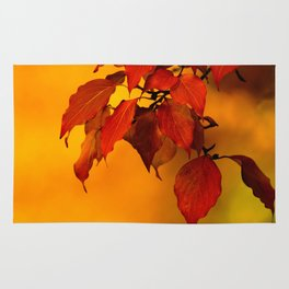 VIVID AUTUMNAL LEAVES Rug