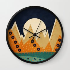 Geometric Spring 03 Wall Clock