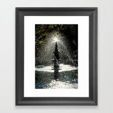 Tears of Zeliha Framed Art Print