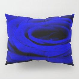Expansion Blue rose flower Pillow Sham