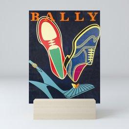 Advertisement bally  bally vintage poster Mini Art Print