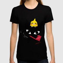 Yeux Du Chat Noir T-shirt