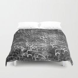 Black & White Glitter 1473 Duvet Cover