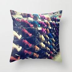 Shoes Matter Throw Pillow
