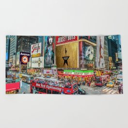 Times Square II Special Edition I Beach Towel