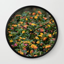 Confetti Lantana Wall Clock