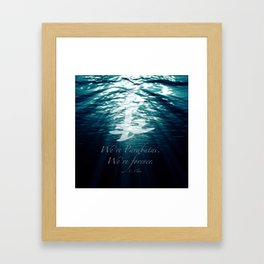 Shadow - Forever parabatai Framed Art Print