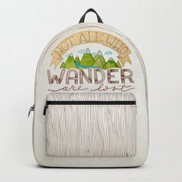 Not All Who Wonder Backpack