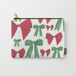 Festive Bows Carry-All Pouch