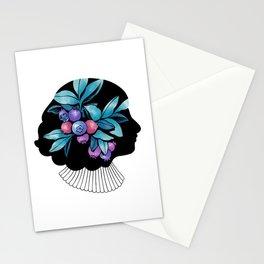 Blueberry Essence Stationery Cards
