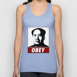 Mao Zedong Obey Unisex Tank Top