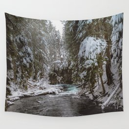 A Quiet Place - Pacific Northwest Nature Photography Wall Tapestry