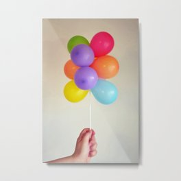 colourful balloons Metal Print