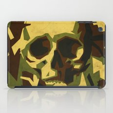 Camouflage skull iPad Case