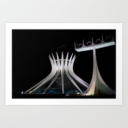 The Cathedral of Brasilia Art Print