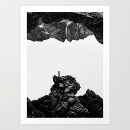 Isolate Me Art Print