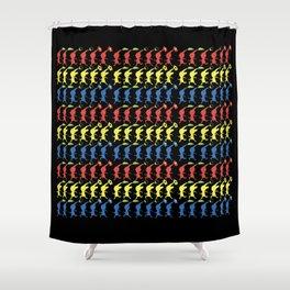 Run Pikmin Run Shower Curtain