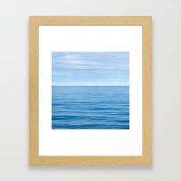 Calm Blue Seas Framed Art Print