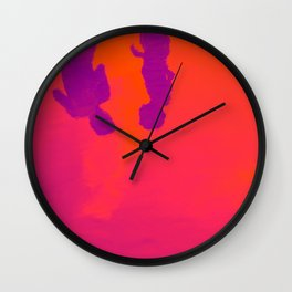 Reflections on the Sea Wall Clock