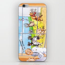 a little odd maybe but not mad! iPhone Skin