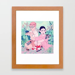 Insect Collector Framed Art Print