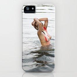 Swimming Season iPhone Case