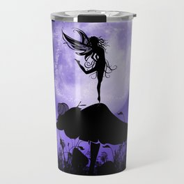 Fairy Silhouette 2 Travel Mug
