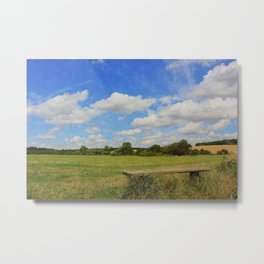 Sit and Enjoy The Countryside Metal Print