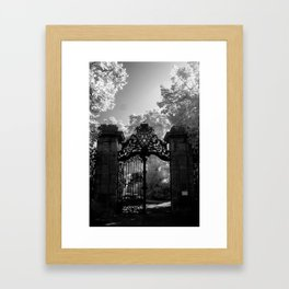 Big Gates Framed Art Print