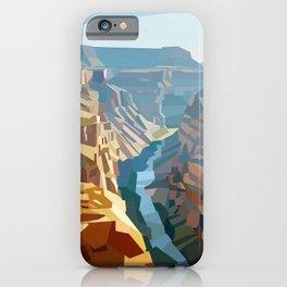 Geometric Grand Canyon National Park, USA iPhone Case