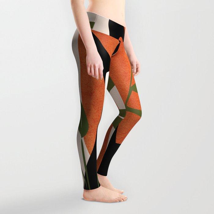 Abstract Female Figure 20 Leggings