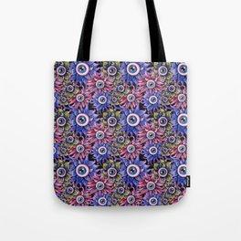 The Devil's Flower Garden - Demonic Eyeball Flowers Tote Bag