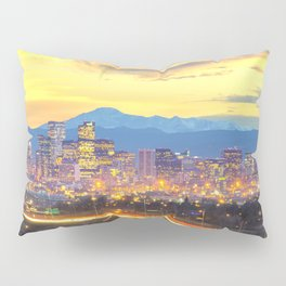 The Mile High City Pillow Sham