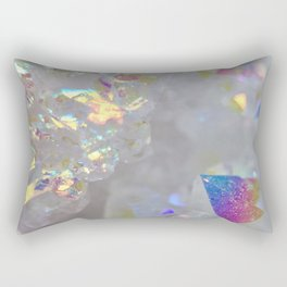 Aurora Borealis Crystals Rectangular Pillow