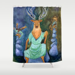 The Woes of Aunt Thompson, part 1 Shower Curtain