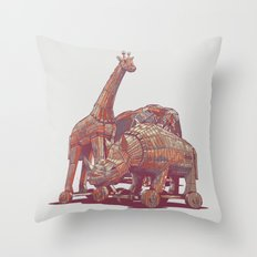 Rejected Plans Throw Pillow