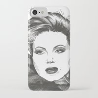 evil queen iPhone & iPod Cases featuring The Evil Queen by ShayMacMorran