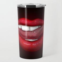 Vampire Lips Travel Mug