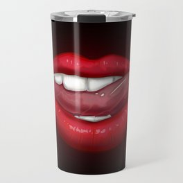 Vampire Lips Travel Mug