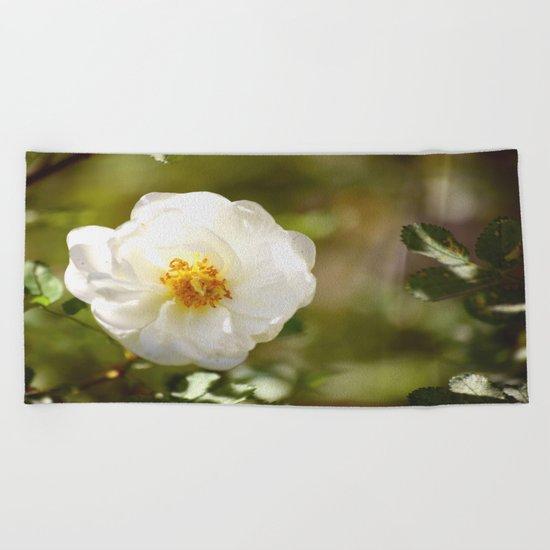 Summer Rose  Beach Towel